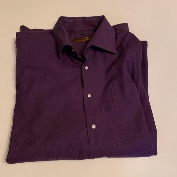Tiglio Other - EUC Tiglio Dress Shirt Size: 17 1/2 36/37